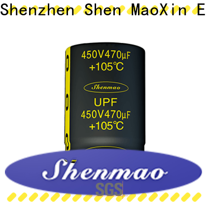 Shenmao snap in aluminum electrolytic capacitors vendor for timing