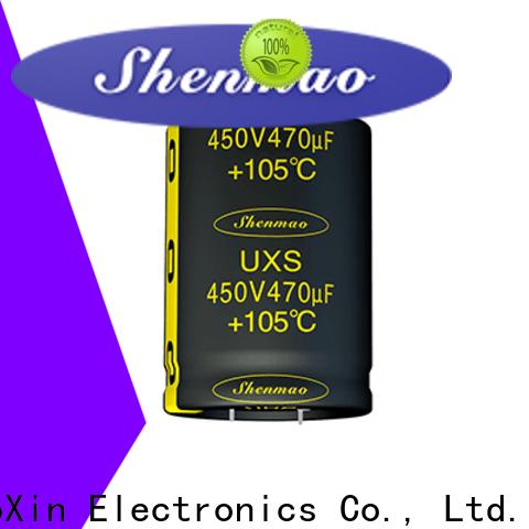 Shenmao 10uf electrolytic capacitor owner for energy storage