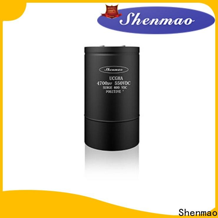 Shenmao Screw Terminal Aluminum Electrolytic Capacitor vendor for rectification