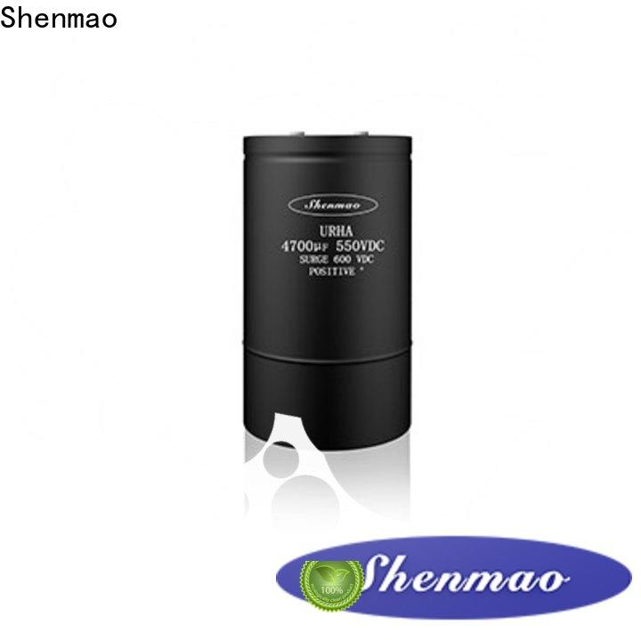 Shenmao electrolytic capacitor markings marketing for timing