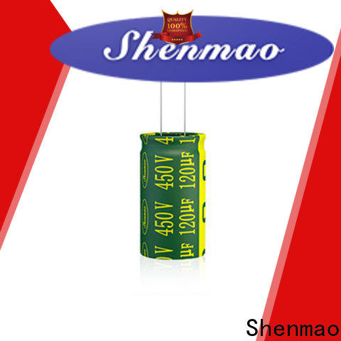 Shenmao capacitor coupling bulk production for filter