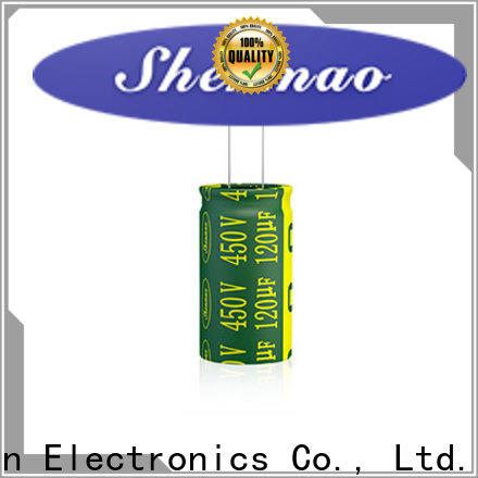 Shenmao good to use 1000uf 50v electrolytic capacitor company for rectification