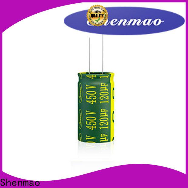 Shenmao non polarized electrolytic capacitors company for temperature compensation