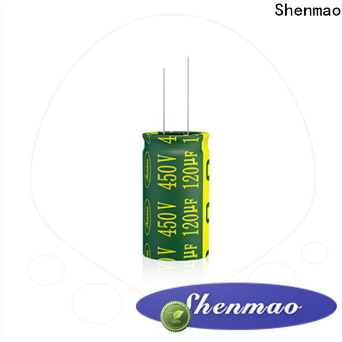 Shenmao 10v 470uf capacitor factory for rectification