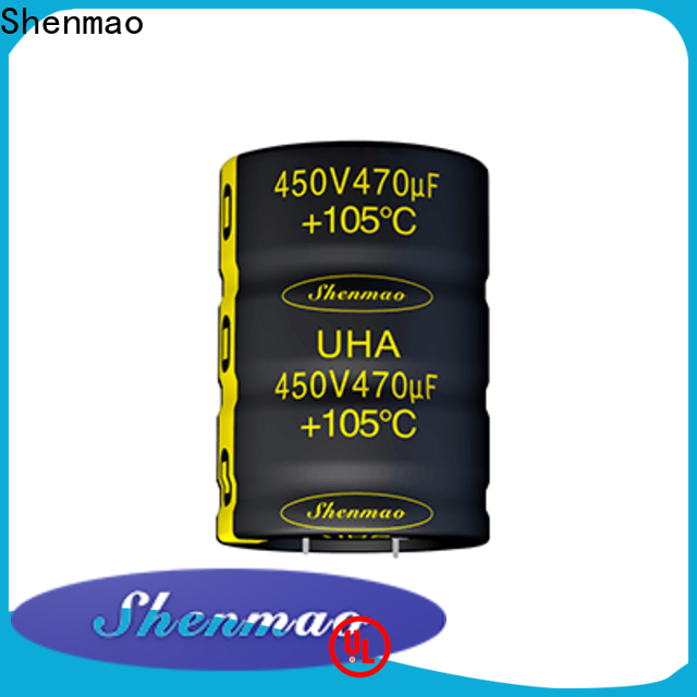 Shenmao voltage across capacitors marketing for timing