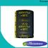 Shenmao supercapacitor vs capacitor vendor for DC blocking
