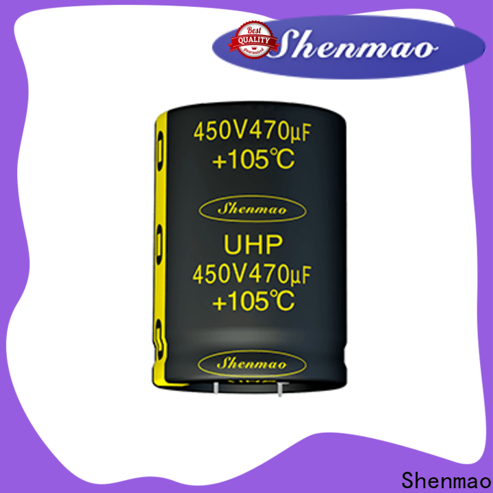 Shenmao easy to use qmoevan capacitor bulk production for filter