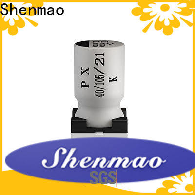 Shenmao electrolytic capacitor negative side company for filter