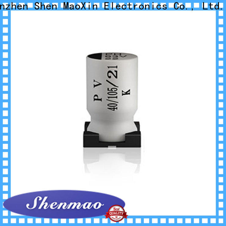 Shenmao noise suppression capacitor oem service for rectification