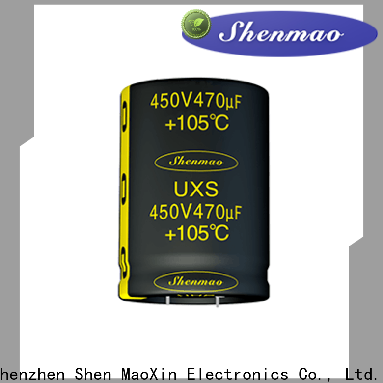 Shenmao capacitor specifications supply for rectification