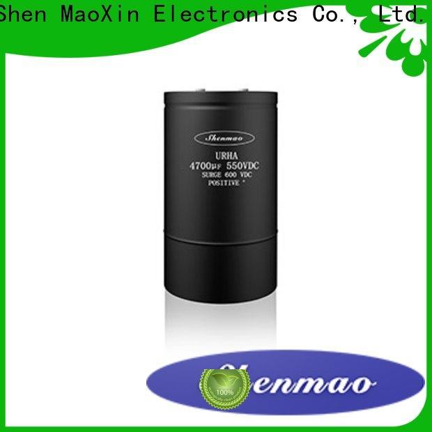 Shenmao energy-saving capacitor manufacturers china oem service for DC blocking