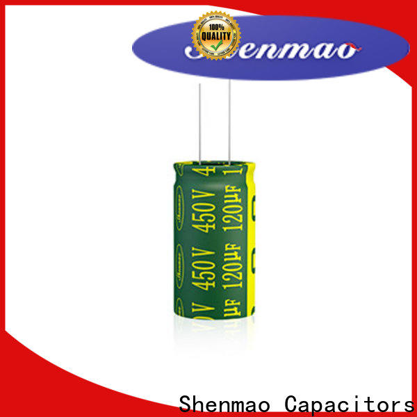 Shenmao electrolytic capacitor 100uf factory for tuning