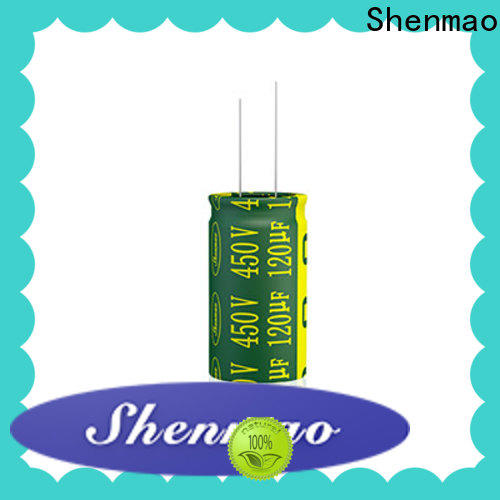 Shenmao high quality 0.47 uf capacitor manufacturers for rectification