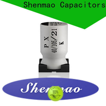 Shenmao soldering capacitor oem service for timing
