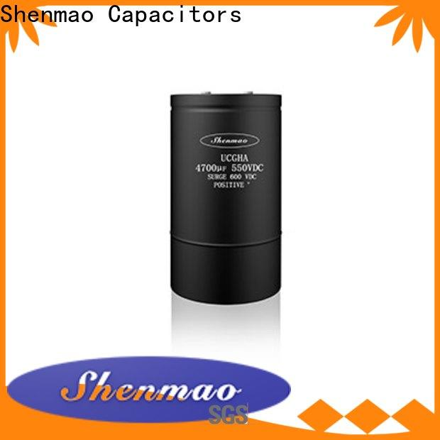 Shenmao do capacitors have resistance factory for filter