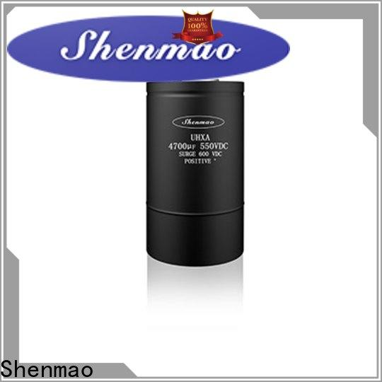 Shenmao latest pulsed power capacitor marketing for timing