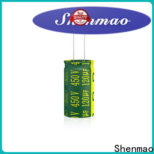 Shenmao 100 uf 50v electrolytic capacitors supply for tuning