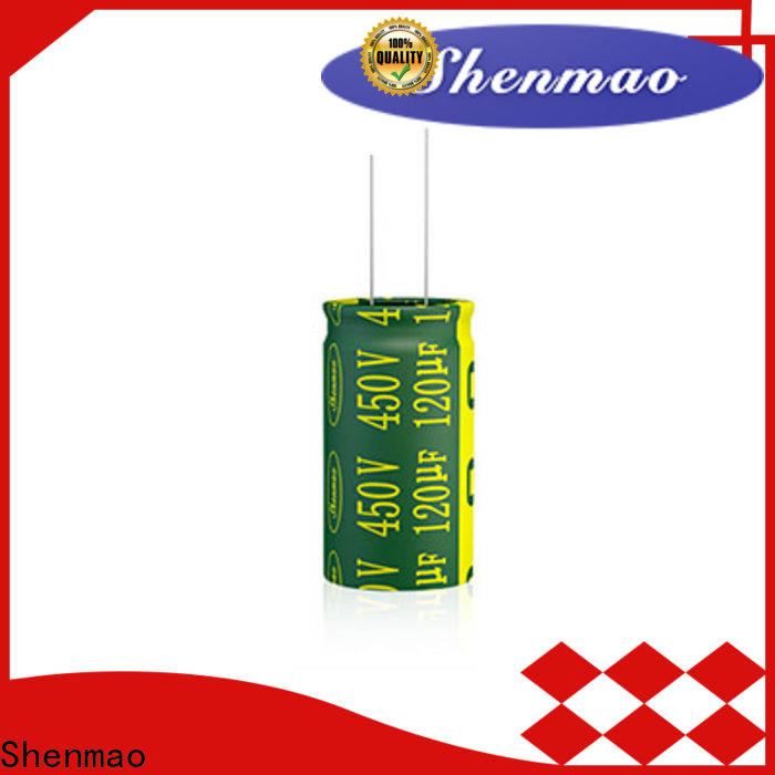 Shenmao easy to use capacitor ac circuit vendor for DC blocking