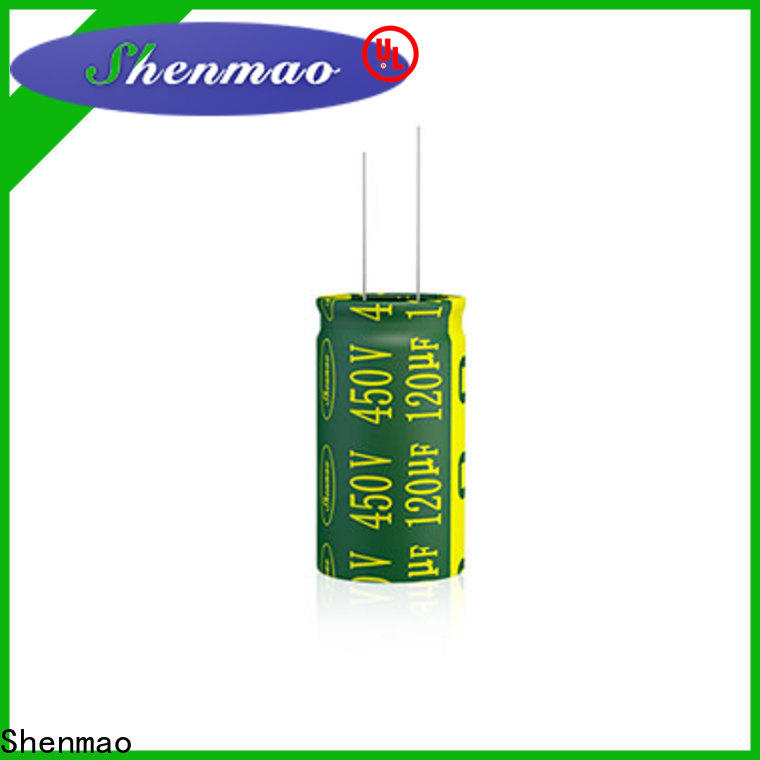 Shenmao 470uf 10v capacitor bulk production for DC blocking