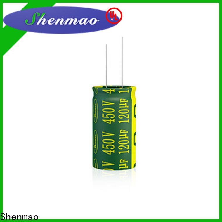 Shenmao 470uf 10v capacitor bulk production for DC blocking