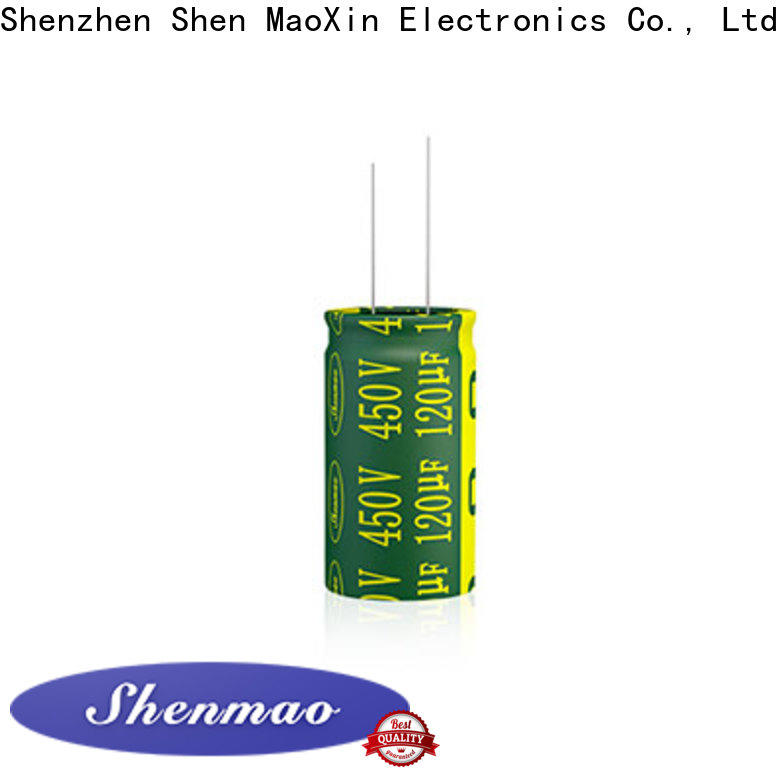 Shenmao wholesale 100uf capacitor suppliers for filter