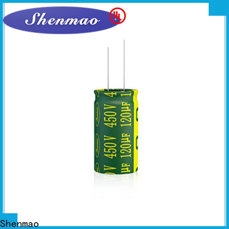 custom 10000uf 50v capacitor overseas market for DC blocking