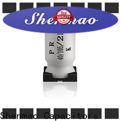 Shenmao pulse capacitor factory for temperature compensation
