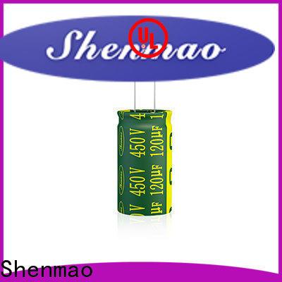 Shenmao high-quality 100uf 25v capacitor bulk production for tuning