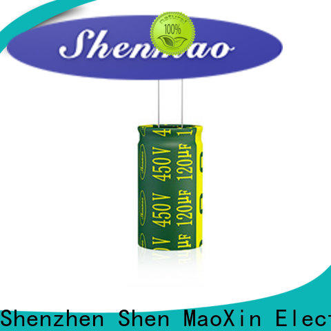 Shenmao polorized capacitor factory for temperature compensation