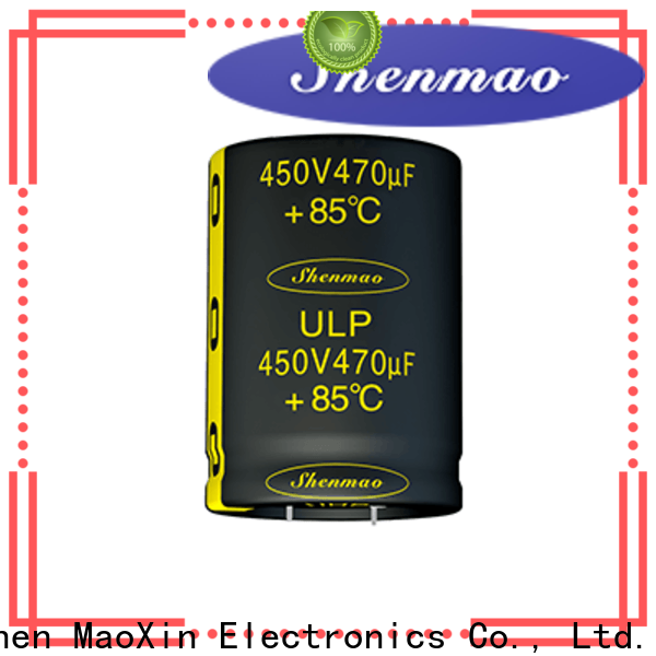 Shenmao top parallel resistor and capacitor owner for DC blocking