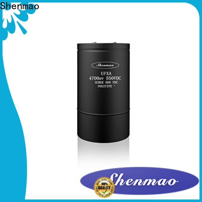 Shenmao top voltage in a capacitor factory for tuning