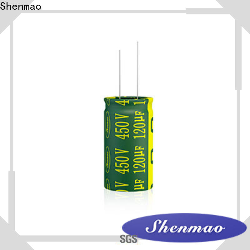 Shenmao easy to use electrolytic capacitor lifetime company for rectification