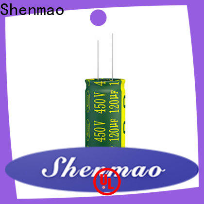 Shenmao electrolytic capacitor company for coupling