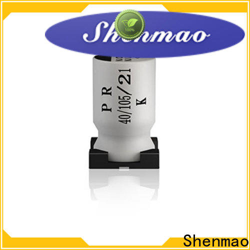 Shenmao New what the standard lead spacing for capacitors marketing for temperature compensation