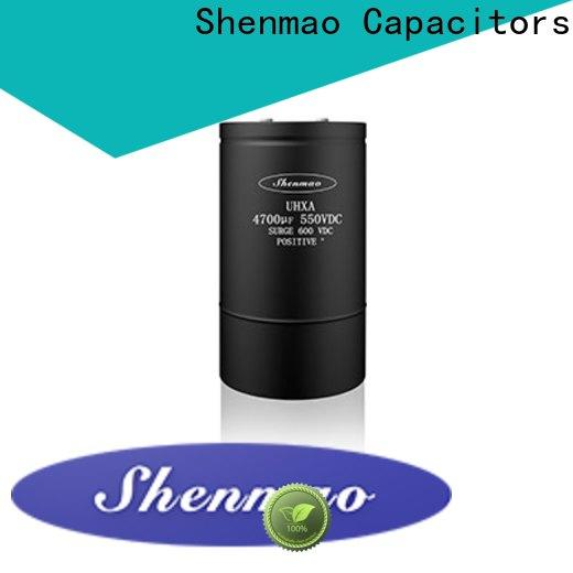 Shenmao top electrolytic capacitor ac for business for filter