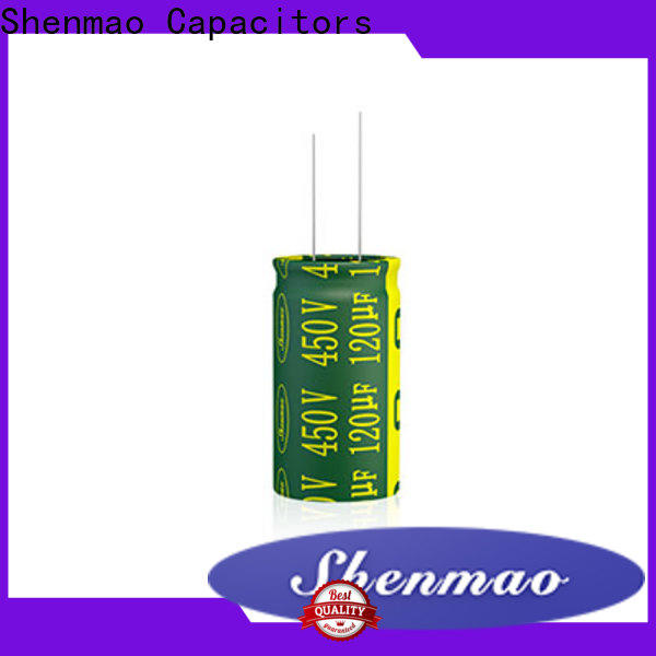 Shenmao lowes capacitor marketing for DC blocking