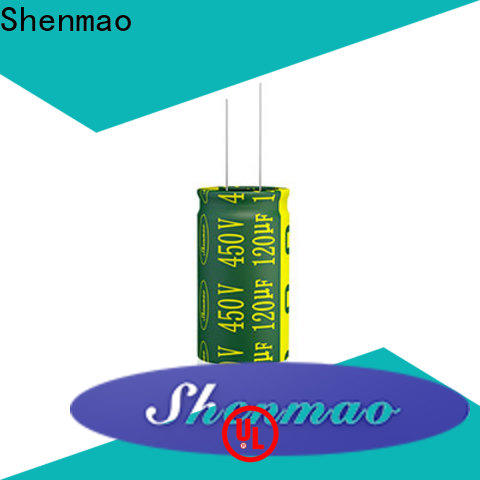 Shenmao high quality smd electrolytic capacitors vendor for rectification