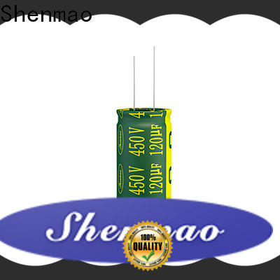 Shenmao quality-reliable capacitors in dc circuits bulk production for timing