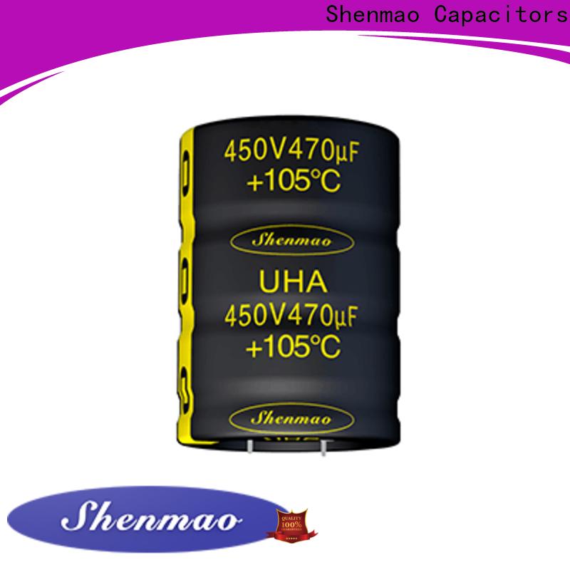 Shenmao best capacitor esr values overseas market for DC blocking