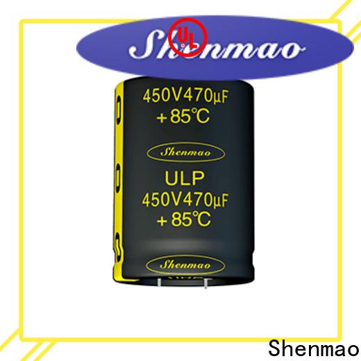 Shenmao capacitor esl vendor for rectification