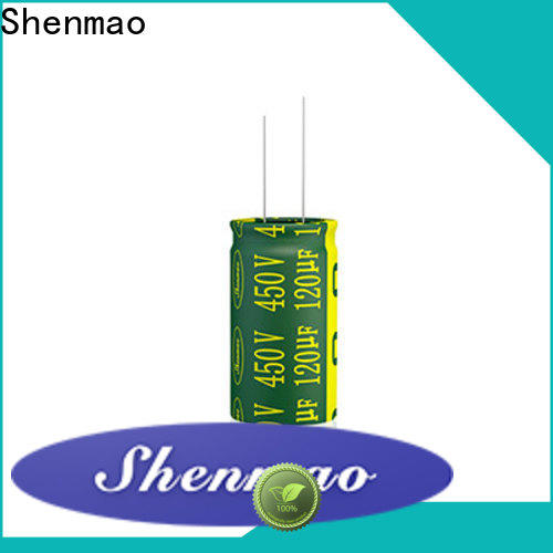 Shenmao high quality lowes capacitor marketing for DC blocking