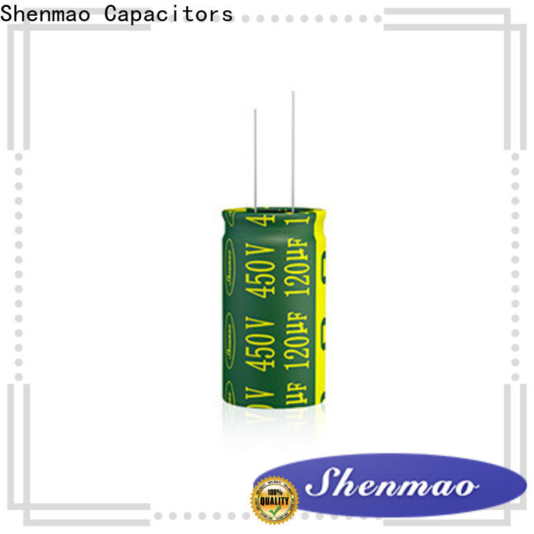 Shenmao easy to use best electrolytic capacitor manufacturers company for coupling