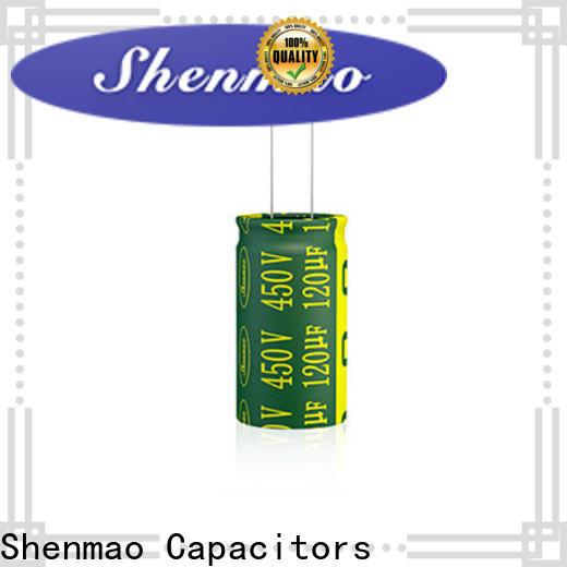 Shenmao 3300uf capacitor overseas market for rectification