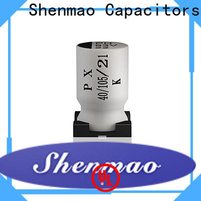 Shenmao custom hec capacitor overseas market for DC blocking