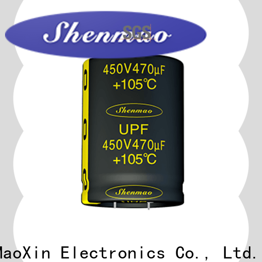Shenmao latest series capacitor bulk production for filter