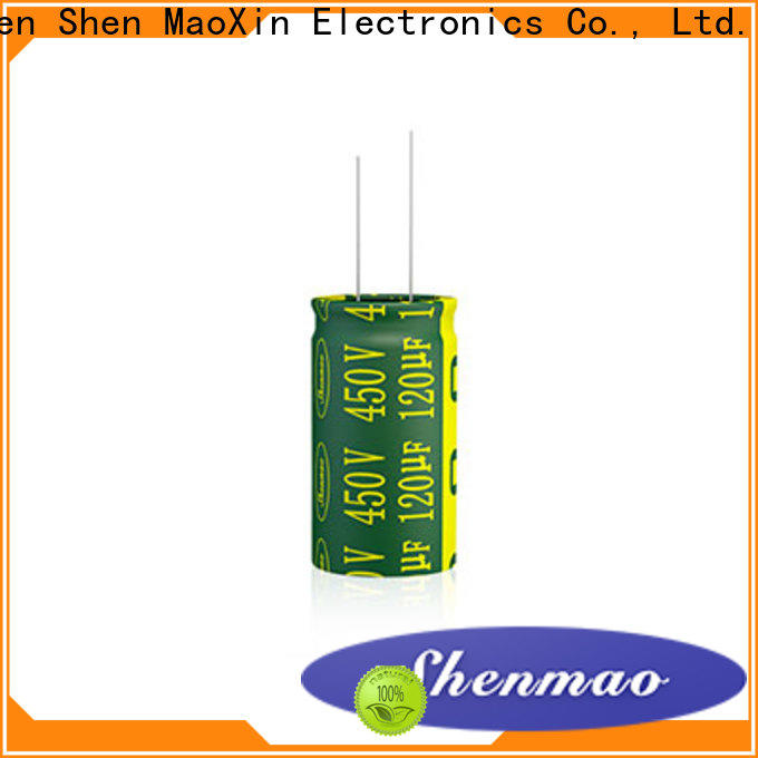 Shenmao durable lowes capacitor bulk production for coupling