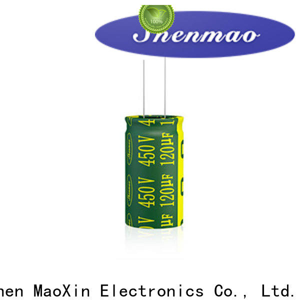 Shenmao best electrolytic capacitor manufacturers factory for DC blocking