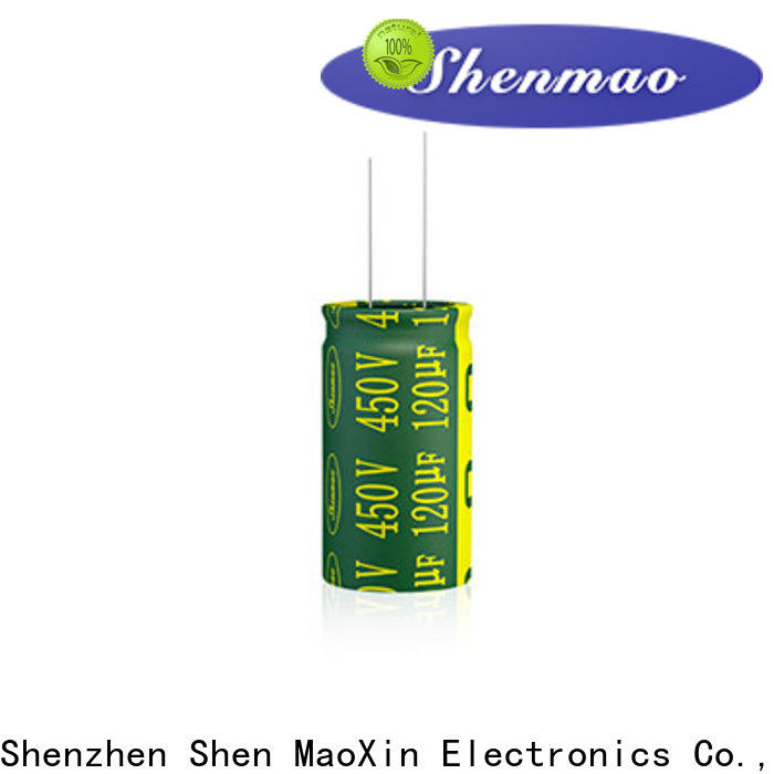 Shenmao working voltage of a capacitor factory for filter