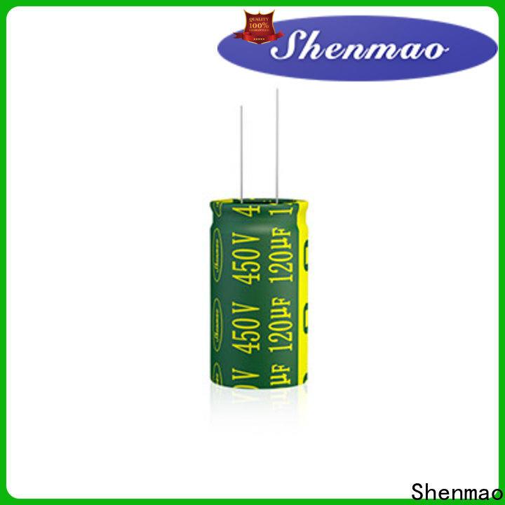 Shenmao polarized capacitor vs non polarized supply for energy storage