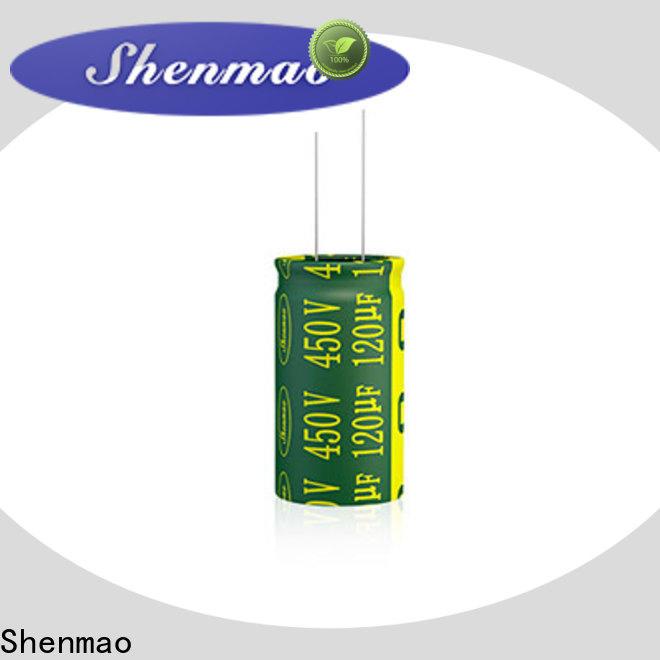 Shenmao latest non electrolytic capacitor overseas market for energy storage